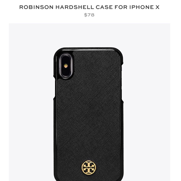 size 40 a26a4 b5908 Tory Burch iPhone X Case